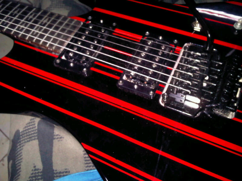 Jual Schecter Synyster Custom Electric Guitar Gitar
