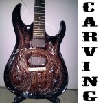 CARVING GUITAR ( Gitar Ukiran )