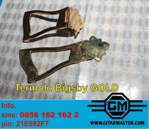 Tremolo Bygsby Gold Plate
