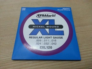 D'Addario 09-42 Light Electric Guitar Strings 1 sets
